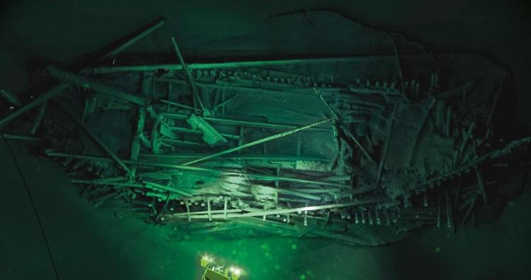 Black sea shipwrecks