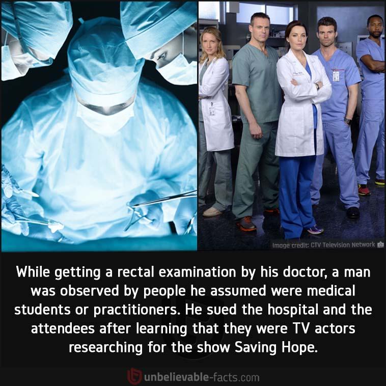 Saving Hope lawsuit