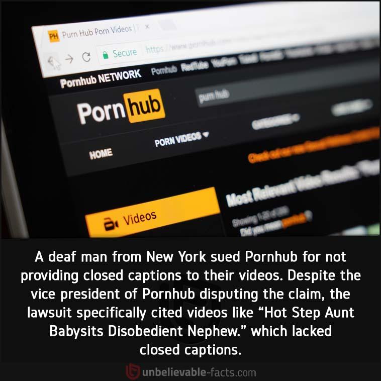 Pornhub blind man lawsuit