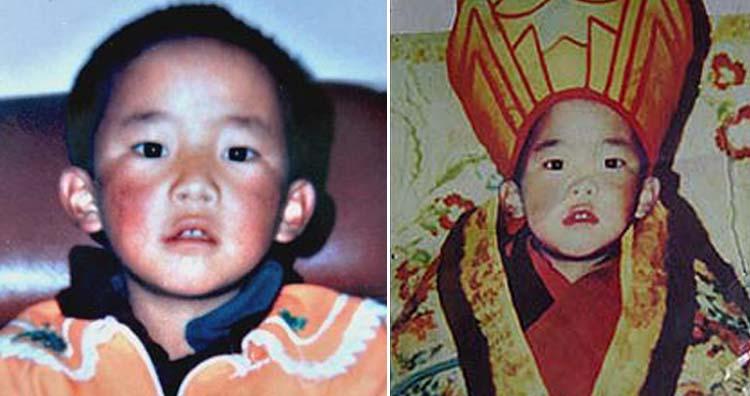 The 11th Panchen Lama Gedun Choekyi Nyima