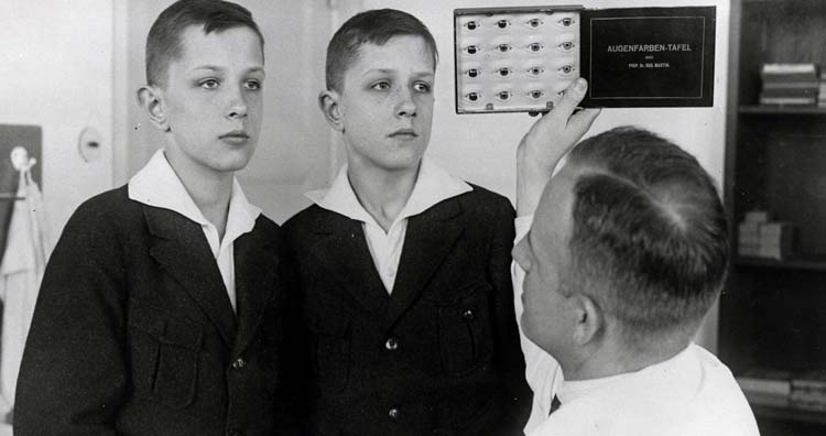 Nazi Germany experiments on sets of twins