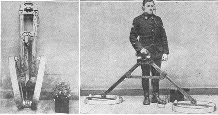 Metal detector from World War 1