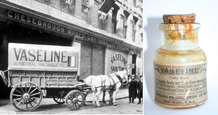 Vaseline history