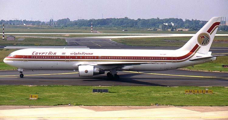 Egyptair Boeing 767