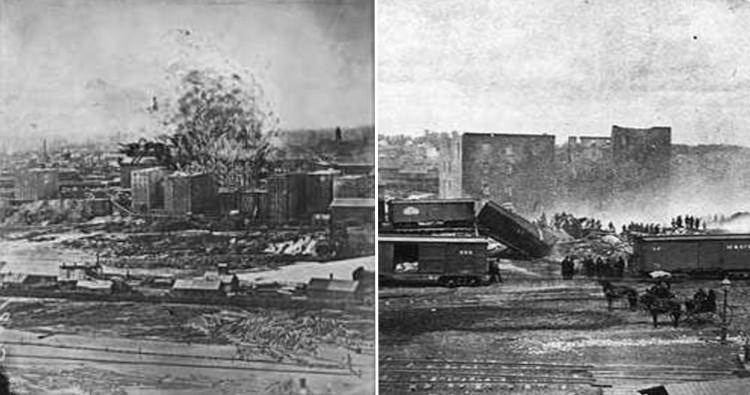 Washburn Mill Explosion