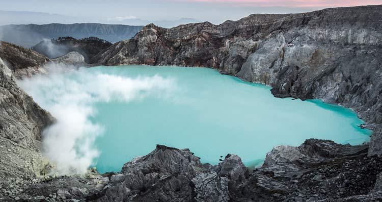 Kawah Ijen Acid Lake