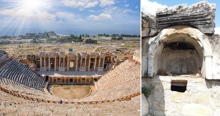 Greek city of Hierapolis and the Plutonium