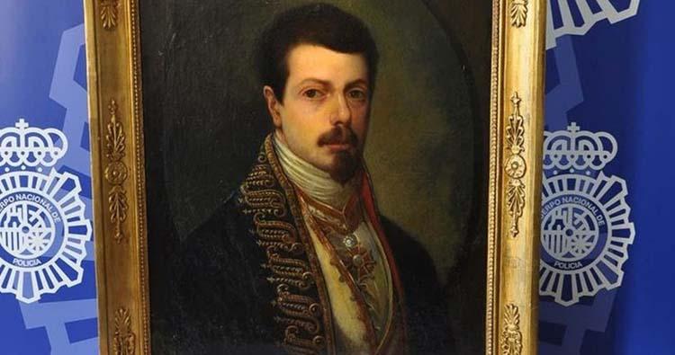 Fake painting of Goya
