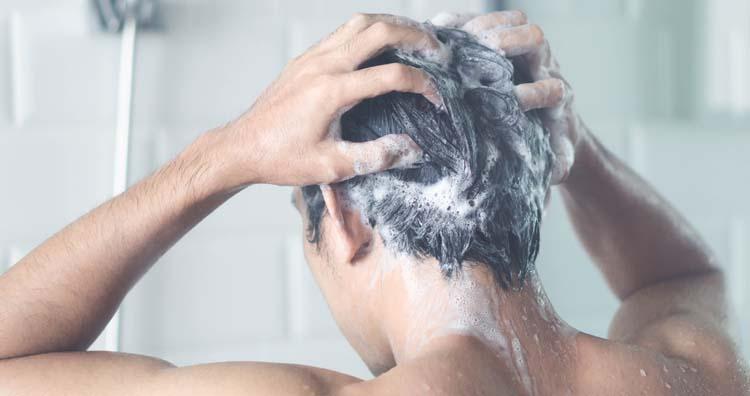 Shampoo always turn white
