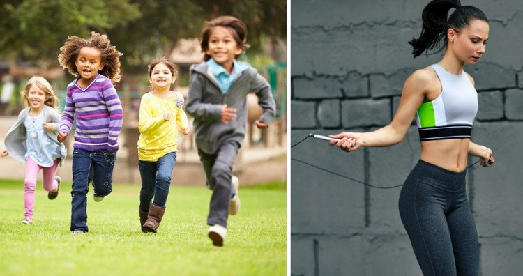 Children more active than adults