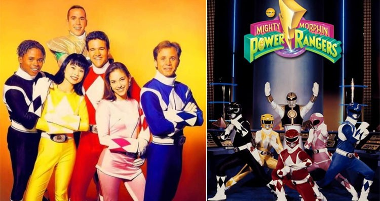 Original Five Power Rangers