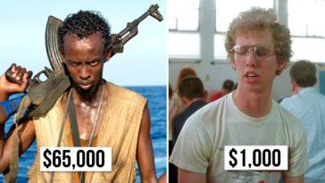 Underpaid actors
