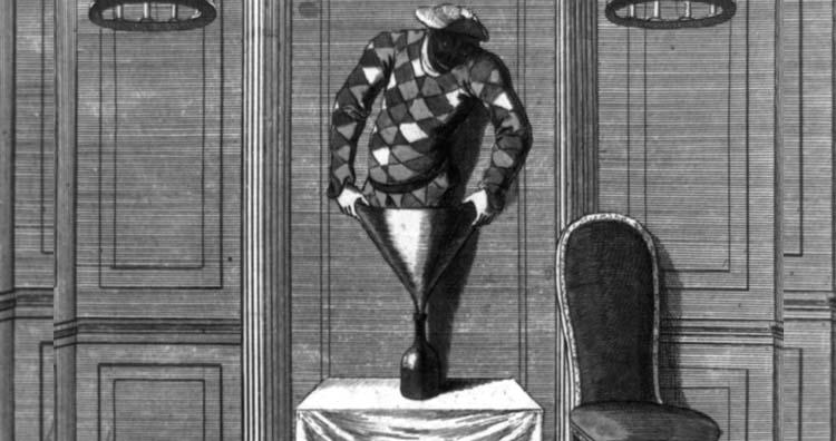 Representation of the Bottle Conjuror