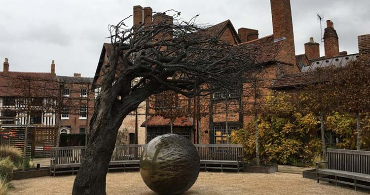 Stratford-upon-Avon- Shakespeare's New Place