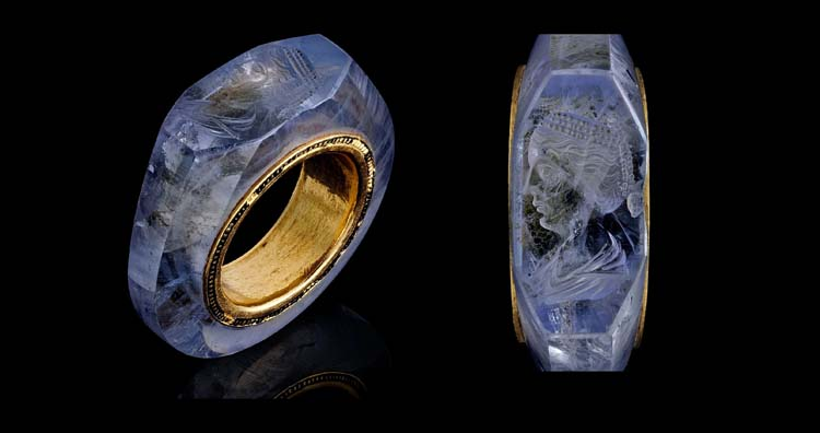 2,000-year-old sapphire ring