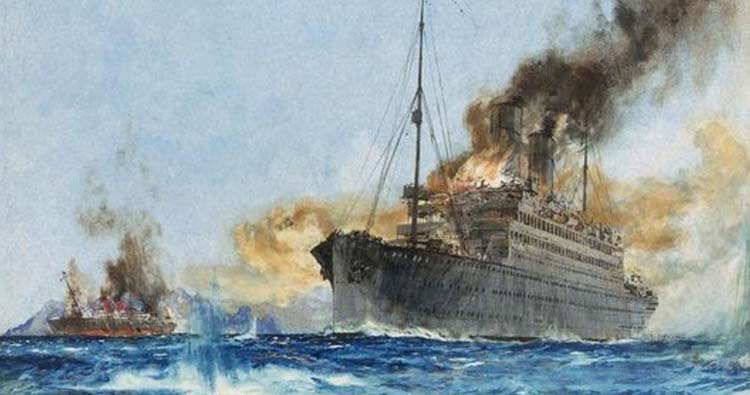 Sinking Cap Trafalgar