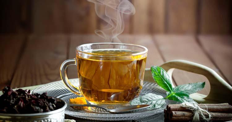 Caffeinated tea