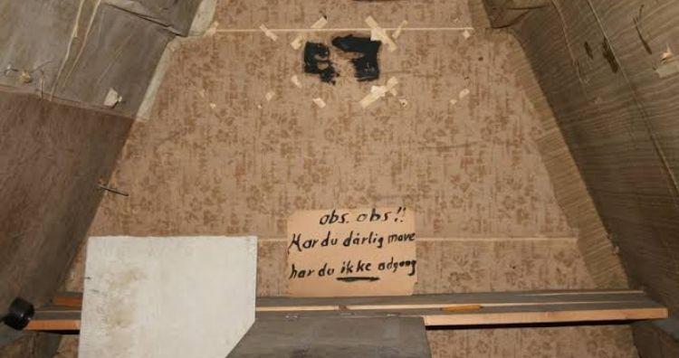 Secret room WWII