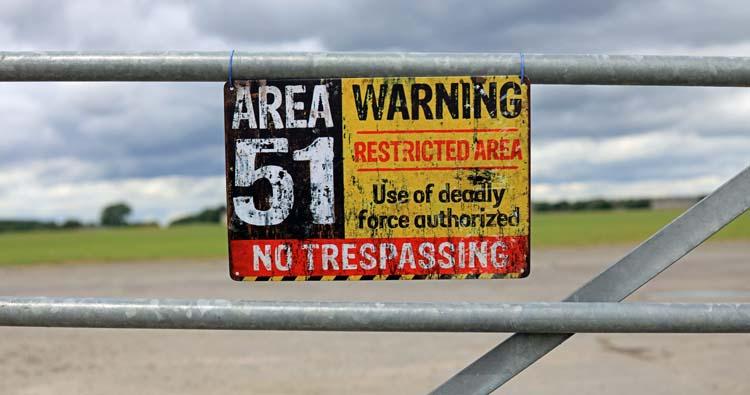 Area 51 in Nevada