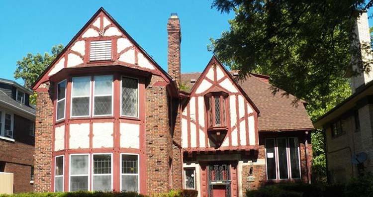 Tudor-style homes