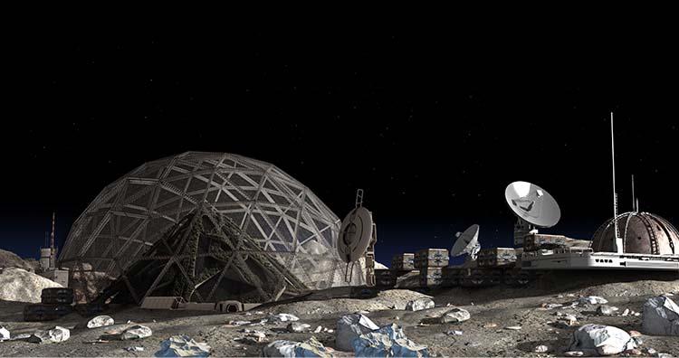 Secret Lunar Base