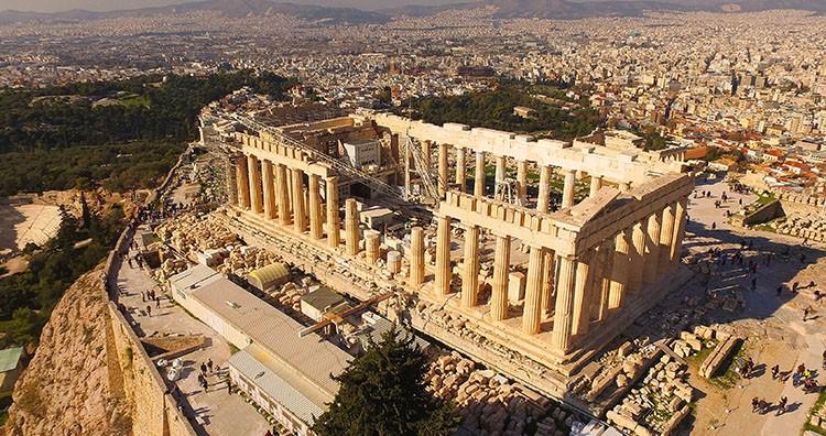 The Destruction of the Parthenon
