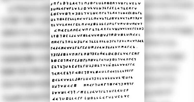 Cryptogram of Olivier Levasseur