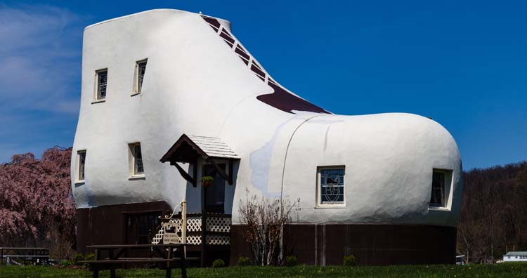 The Haines Shoe House