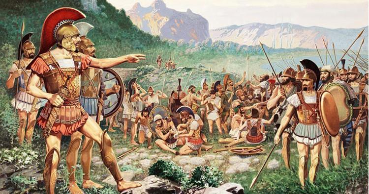 Leonidas and his men