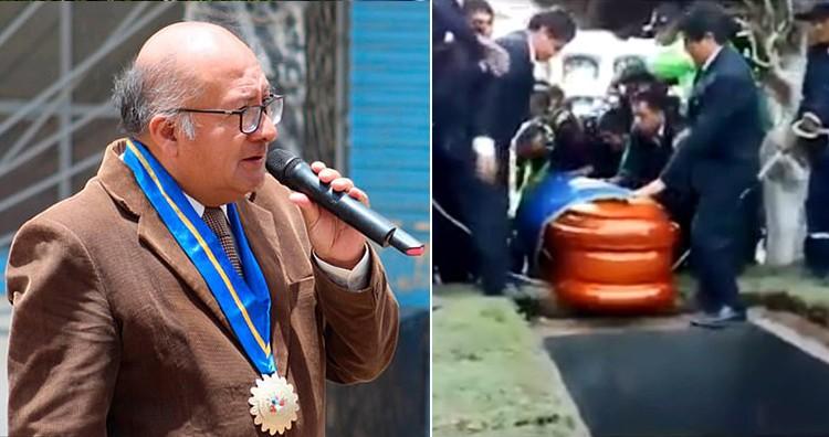 Former Peruvian Mayor Moises Garcia